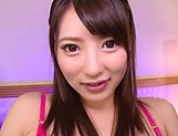 Hakii Haruka dildo rding her slippery wet pussy picture 11