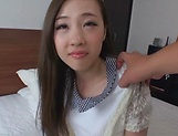 Sexy Saki Asumi gets a messy cum on face
