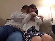 Appetizing honey fucked in awesome sex session