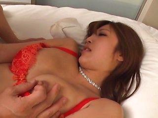 Japanese sex idol Mizukawa Sumire enjoys a sensuous sex play