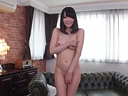 Busty girl reveals nudity and pussy action in hot scenes