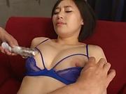 Imanaga Sana likes to suck sex toys