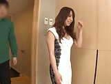 Sonoda Mion turned on with a sensual kissing