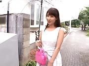 Big-tittied Japanese chick Ayami Shunka gets pounded nicely
