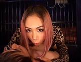 Deliciously hot Fujimoto Shion in kinky blowjob fun