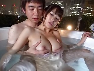 Spicy Honoka Mihara in awesome blowjob scene