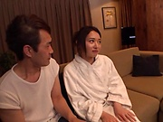 Imai Mai likes a creampie after fucking