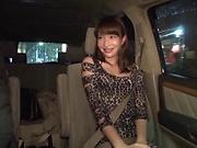 Izumi Koharu loves showcasing her nice ass