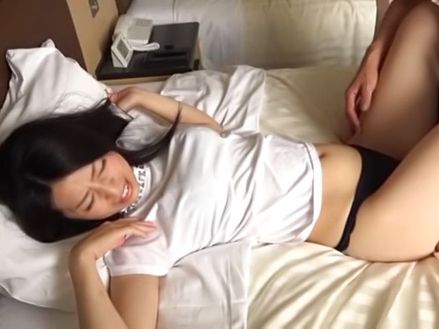 Delicious milf awesome sex with hubby in bed