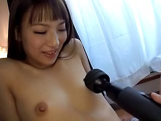 Young Japanese with small tits, insane POV play