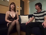 Sexy Kanon Nozaki  gets her tits  covered by a creamy load picture 13