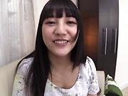 Tokyo sweetheart in pantyhose Mitsuna Rei gets fingered