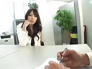 Luscious Japanese woman gets her pussy massively creampied