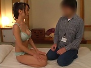 Sugary Japanese milf Nagase Asami grinds on a cock and licks it in 69