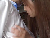 Gorgeous Japanese sex idol Mizukawa Sumire gets screwed tough picture 12