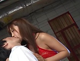 Gorgeous Japanese sex idol Mizukawa Sumire gets screwed tough picture 4