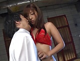 Gorgeous Japanese sex idol Mizukawa Sumire gets screwed tough picture 6
