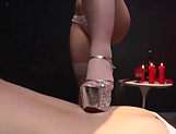 Kinky lady is into female domination picture 11