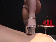 Kinky lady is into female domination