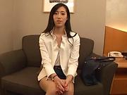 Sexy milf Kitajima Yui in a seductive wild teasing session
