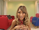 Sleazy babe Aika pleasing several cocks picture 3