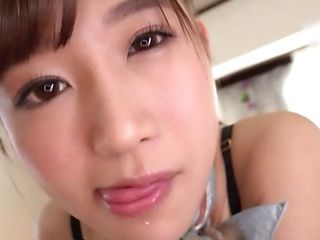 Hoshina Ai is giving a hot dick massage