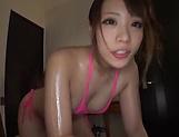 Teen hottie Mashiro Airi in kinky hand job fun
