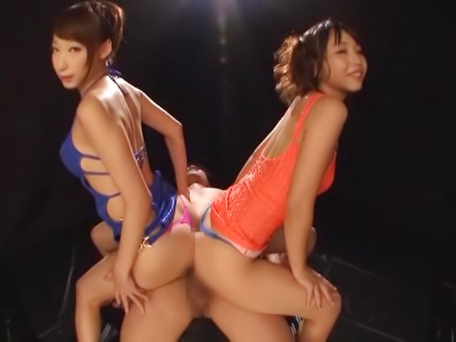 Claire Hatsumi and Yuki Kami love giving steamy blowjobs