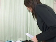 Mischievous amateur girl from Japan comes for a hardcore fuck