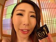 Raunchy sex model Shinoda Ayumi bonked good