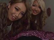 Adorable girls using cock in complete POV scenes