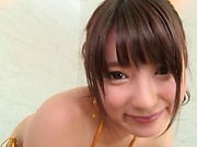 Toy insertion thrill soapy vixen Hakii Haruka