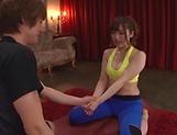 Kawakita Haruna gets naughty on her horny self