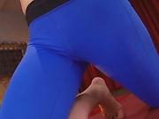 Kawakita Haruna pleasures her wet snatch wildly