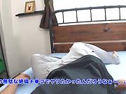 Long-haired Japanese AV model sucks and bounces on cock in pov