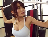 Steaming hot amateur girl from Japan fucks with sport instuctor