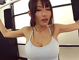 Steaming hot amateur girl from Japan fucks with sport instuctor picture 15