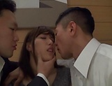 Hardcore threesome scene involving hot Kanon Nozaki