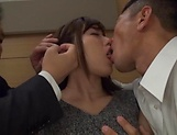 Kanon Nozaki loves it when her holes get filled by hard poles picture 13