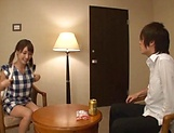 Big tits babe Ayami Shunka gets her gaping cunt drilled picture 5