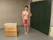 Tezuka Akari pleasures her horny self with toys