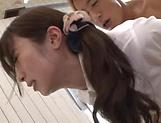 Beautiful Katou Honoka gets nailed doggy