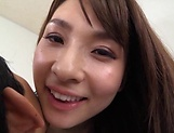Ooba Yui, excels in her blowjob giving skills picture 12