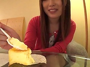 Sensational shag for voluptuous Japanese vixen