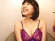 Shiraishi Mio looks sexy in stockings