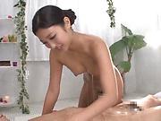 Gorgeous Mizuki Miri gets a wild massage
