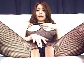 Japanese beauty likes sex toys a lot