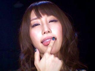 POV blowjob by Ayami Shunka looks great