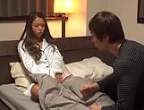 Pretty Asian AV model Naomi rides a cock hardcore in POV