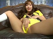 Mizuki Miri enjoys a hardcore session